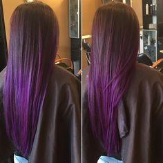 Multi-Tonal Violet Balayage