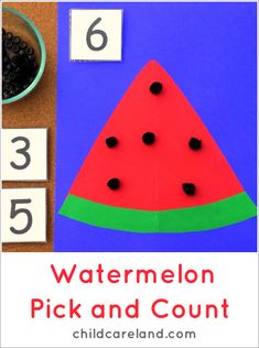 Watermelon Pick and Count