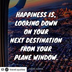 Exactly! The beginning of a new travel adventure is always the BEST!