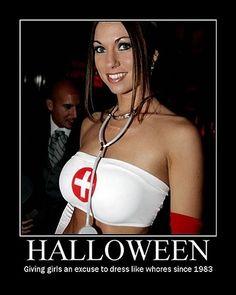 Halloween whores