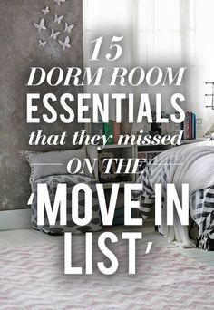 These should have been on the dorm packing list! #college #packing #hacks