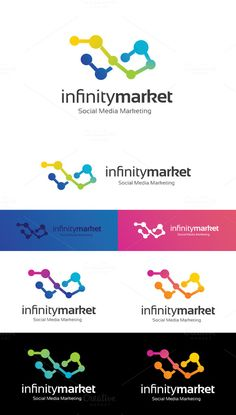 Infinity Market by Super Pig Shop on Creative Market