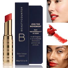 Beautycounter Red   buy 2 and save $10