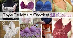 18 Tops Tejidos a Crochet con Patrones