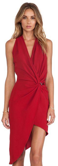 b632f96a3 http://www.revolveclothing.com/halston-heritage-draped-neck-wrap-dress-in -dark-crimson/dp/HALS-WD268