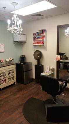 IKEA salon decor, salon suite decor | Salon decor/organization ...