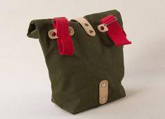 Bicycle bag   Handlebar bag   Canvas bag   Rolltop bag   Vintage bag    Vintage bike bag   cool   SERGEANT e45e56a7be