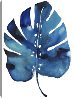 The Split Leaf canvas print by Kate Robuck is a great addition to any salon space. With its cool colors and tranquil vibe, this print is perfect for the day spa of your dreams!