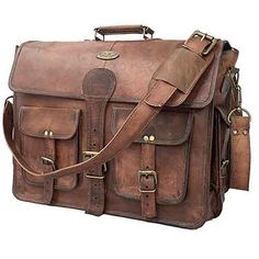 Check out this awesome Messenger Bags - cuero DHK 18 Inch Vintage Handmade Leather Messenger Bag for Laptop Briefcase Best Computer Satchel School Distressed Bag inch) Messenger Bag Herren, Brown Leather Messenger Bag, Leather Camera Bag, Leather Laptop Bag, Laptop Messenger Bags, Leather Briefcase, Leather Satchel, Laptop Briefcase, Men's Leather