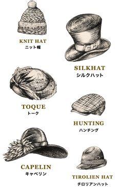 CA4LA(カシラ) ハット、キャップ、キャスケット、ハンチング、ニット、ベレーなど、オリジナルデザインの帽子を販売。