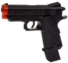 World Tech Arms Defender 45 Pistol FPS-300 Spring Airsoft Gun AirTech,.