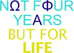 nΩt fΦur yeΑrs but for life. Omega Phi Alpha