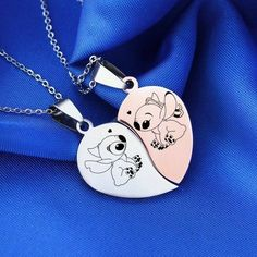 Jewelry OFF! Bowers Gang preferences imagines most to least likely too and zodiacs. Includes: Henry Patrick Belch and Vic. Bff Necklaces, Best Friend Necklaces, Best Friend Jewelry, Friendship Necklaces, Friend Rings, Lilo And Stitch Quotes, Cute Stitch, Accessoires Iphone, Couple Jewelry