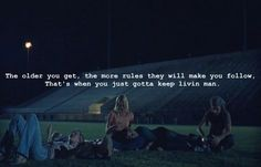 One of my favorite quotes from my favorite movie. #love #dazedandconfused #movie
