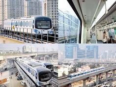 Slideshow : Gurgaon Rapid Metro: Cyber City's new lifeline - Gurgaon Rapid Metro: Cyber City's new lifeline   The Economic Times