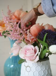 Create your own bouquets for any event w/ these tips! | west elm