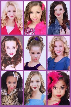 Dance Moms - Dancers : Credit to Genevieve Rochefort All these dancers have amazing talents and they are all unique in their own ways