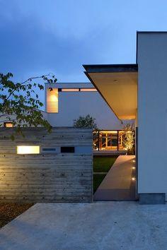 札幌 設計事務所 ATELIERO2 北海道の建築家 大杉崇の建築作品~「DOUBLE COURT」旭川市の住宅