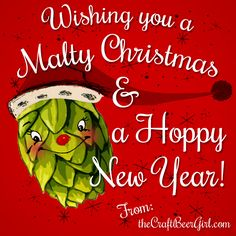 Hoppy Holidays from The Craft Beer Girl!