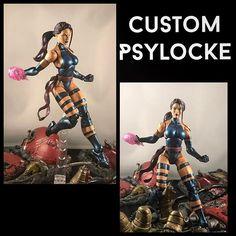 #custom #psylocke #xmen #marvel #marvellegends