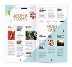 double-page intérieur de la brochure                                                                                                                                                                                 Plus