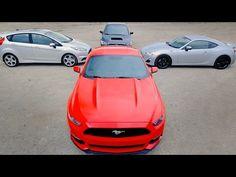 Ecoboost Mustang vs. WRX vs. FRS vs. Fiesta ST – Greatest Hits? – Everyd...