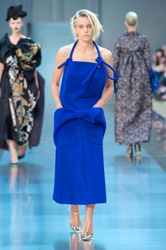 The Best Runway Looks From Haute Couture Fall 2015 --Notice the Bow Band that details both Patch Pockets!