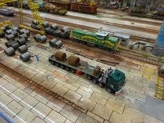 Model railroad landscape
