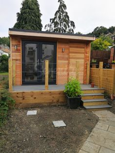 rustic Garden room Do you need a garden room plus storage space This room could be the room of your dreams!