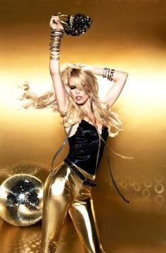 gold pants also work as a disco outfit doesn't always have to be dresses