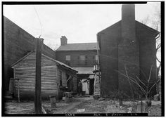 4.  Historic American Buildings Survey W. N. Manning, Photographer, January 3, 1935 REAR VIEW - EAST ELEVATION - Old Tavern, East Clinton & East Square Streets, Jacksonville, Calhoun County, AL