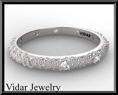#vidarjewelryArtfire on Artfire                     #ring                     #Stunning #Statement #Diamond #White #Gold #Woman #Wedding #Ring              Stunning Statement Diamond 14k White Gold Woman Wedding Ring                                            http://www.seapai.com/product.aspx?PID=199359