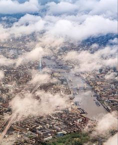 london from sky London England, Pilot, Clouds, Sky, Mountains, Places, Nature, Travel, Outdoor