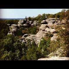 "Shawnee National Forest Southern Illinois ""Garden of the Gods"""