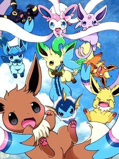 Gotta Catch 'Em All! All Pokemon, Pokemon Fan Art, Cute Pokemon Pictures, Cute Pictures, Evolution Pokemon, Pokemon Especial, Pokemon Eevee Evolutions, Charmander, Chibi