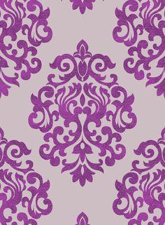 66 Ideas damask wallpaper bedroom purple products for 2019 Tree Wallpaper Cute, Accent Wallpaper, Damask Wallpaper, Pink Wallpaper Iphone, Trendy Wallpaper, Pattern Wallpaper, Wallpaper Backgrounds, Bedroom Wallpaper, Designer Wallpaper