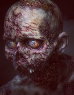 One of THE BEST zombies I've ever seen!!!