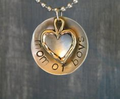Love, love, love this simple necklace that says it all.