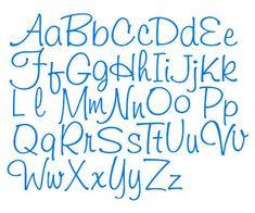 Hand Lettering Alphabet, Doodle Lettering, Creative Lettering, Lettering Styles, Brush Lettering, Writing Styles Fonts, Fancy Fonts Alphabet, Design Alphabet, Alphabet Soup