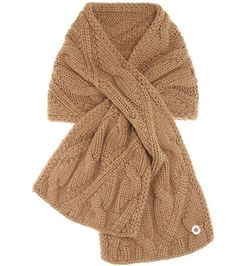 Loro Piana Chevril Baby Cashmere Knitted Scarf For Spring-Summer 2017