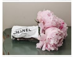 Chanel flowers - love these!