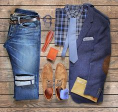 Perfect business casual look for the more flexible office. Look put together yet comfortable.