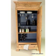 15 Best Armoire Bar Ideas Ever – Modern Home Bar Armoire, Decoration, Bathroom Medicine Cabinet, Liquor Cabinet, Html, Storage, Furniture, Design, Home Decor