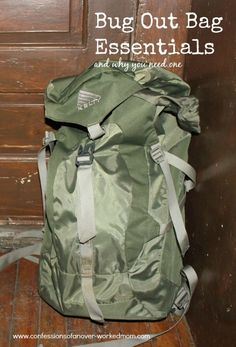 Bug Out Bag Essentials & Why you need one #preparedness