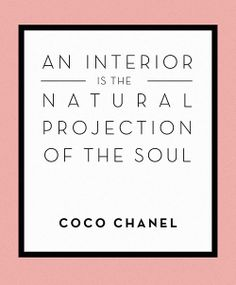 Design*Sponge | Wise Words from Coco Chanel