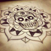 MandalaSkull by *WillemXSM on deviantART