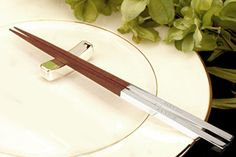 Pair of Chopsticks with stand  Personalized by RumorsGifts on Etsy, $27.95