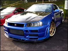 Nissan Skyline R34 GTR  Can't get enough of the Skyline!