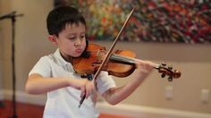 Nathan Gendler, 6 yrs old, plays Mendelssohn Violin Concerto E minor, mvt 1, on 1/4 size violin—See more of this young violinist #from_fnurica