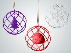 Shapeways Ornaments Target